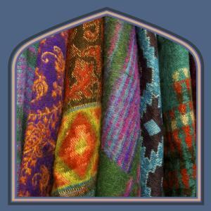 Fleece shawls