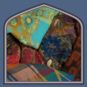 Wool shawls